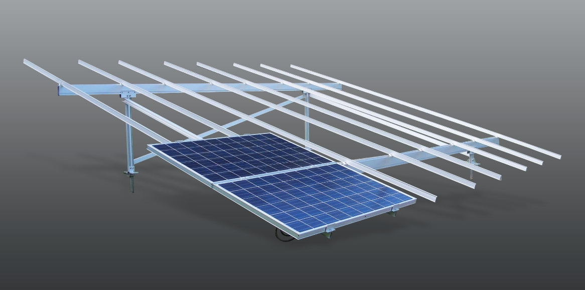 ... developed and commercialized aluminum solar panel frame ALSOL MEGA